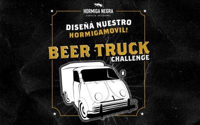 Buscamos diseño para pintar nuestro Beer Truck Hormiga!